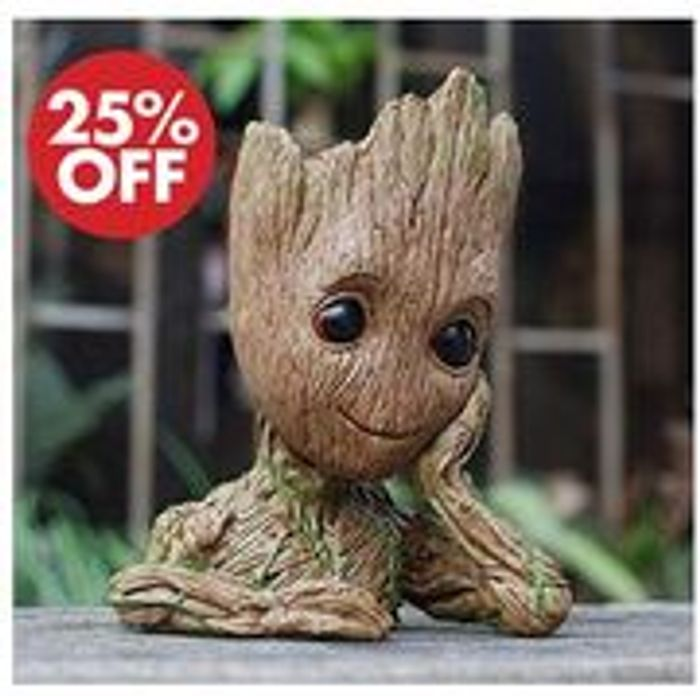 Groot Flowerpot / Pen Pot (FREE DELIVERY)