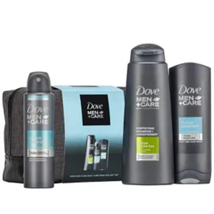 Dove Men+ Care Wash Bag Gift Set *4 Piece