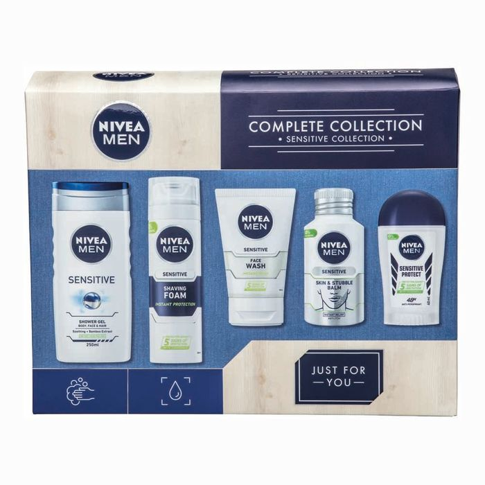 Nivea Men Complete Grooming Collection Gift Set HALF PRICE