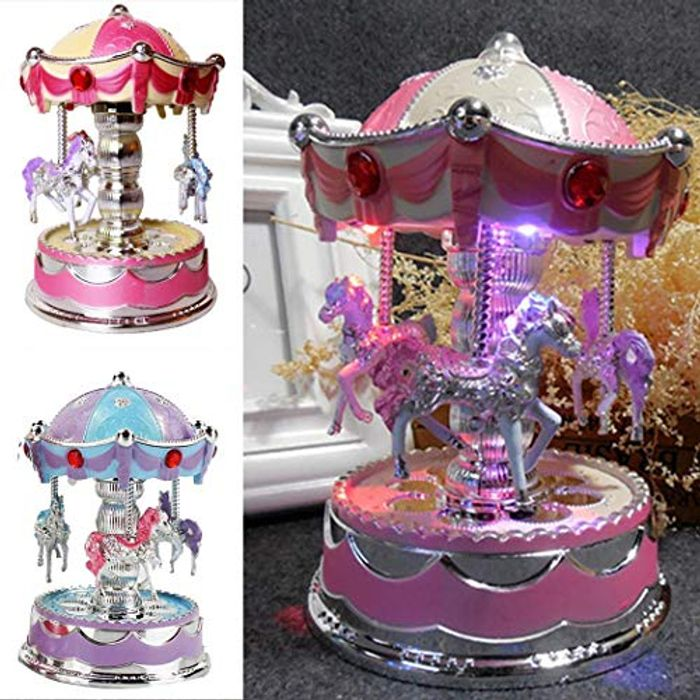Carousel Music Box 70% off + Free Delivery