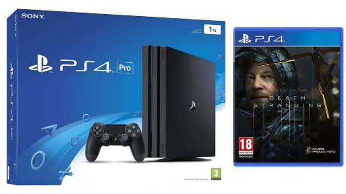 PlayStation 4 Pro & Death Stranding Bundle