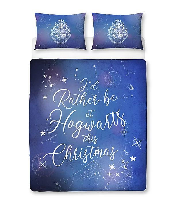Harry Potter Christmas Duvet Set - HALF PRICE