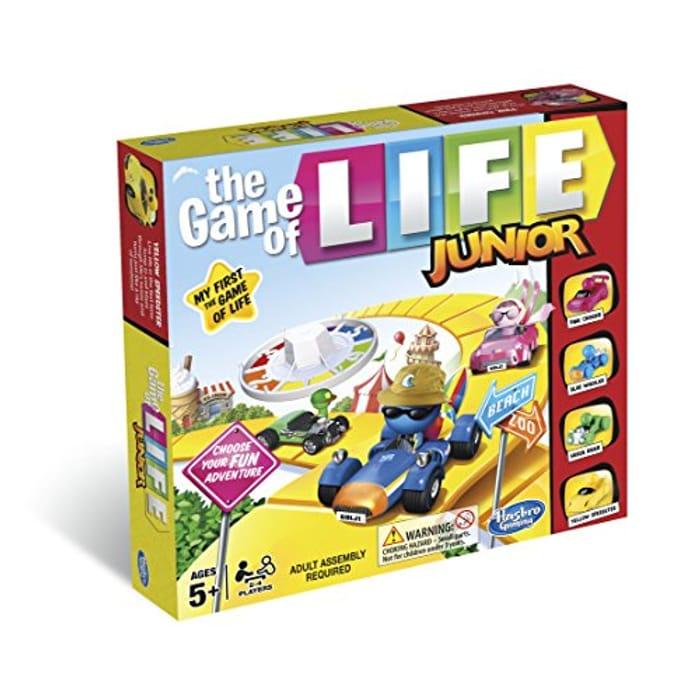 Game of Life B0654 Hasbro Gaming of Junior Game