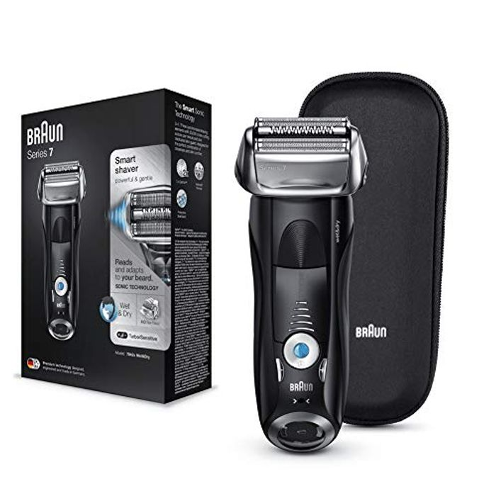 Braun Series 7 Electric Shaver for Men on Sale From £279.99 to £99.99