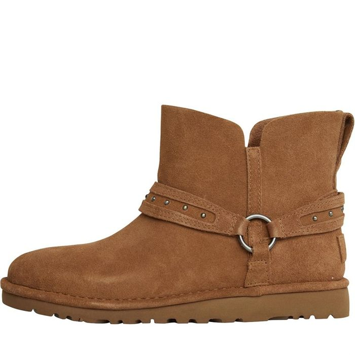 *SAVE £77* UGG Womens Ailiyah Ankle Boots Chestnut Sizes 3.5/4.5/5.5