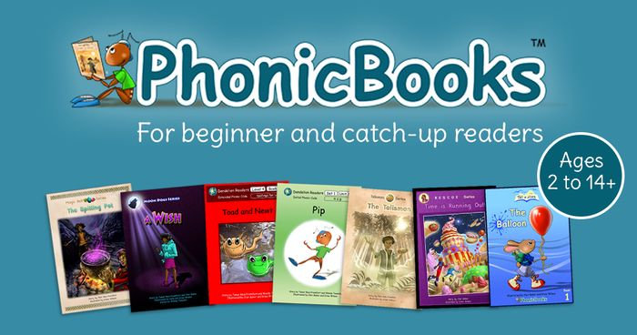 Get A Catalogue From Phonic Books FREE BY POST