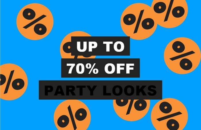 Up to 70% off Party Looks At ASOS