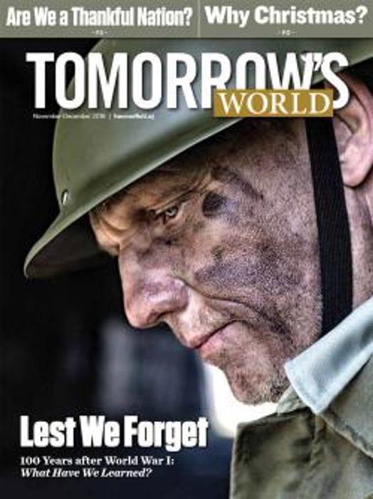 Free Tomorrow's World Magazine Subscription.