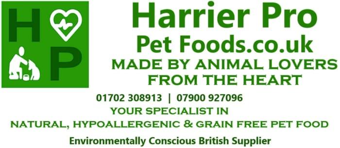Harrier Pro Pet Food Samples