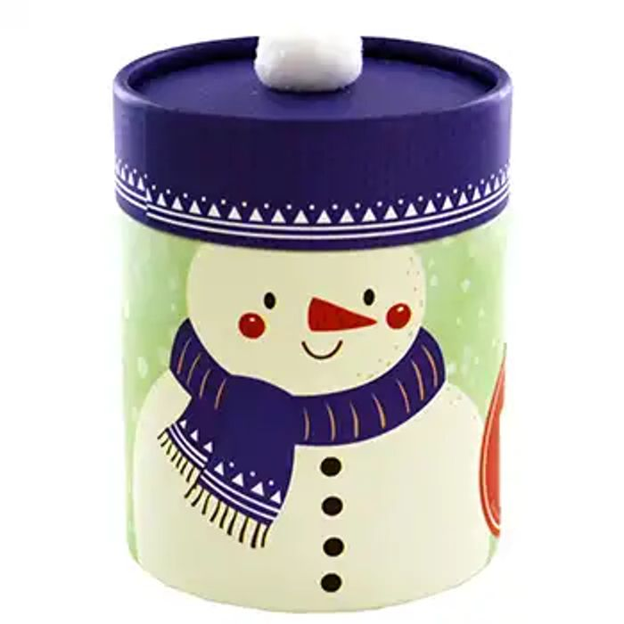 Snowman Festive Cinnamon Let It Snow Candle Only £3.75 with Voucher Code!