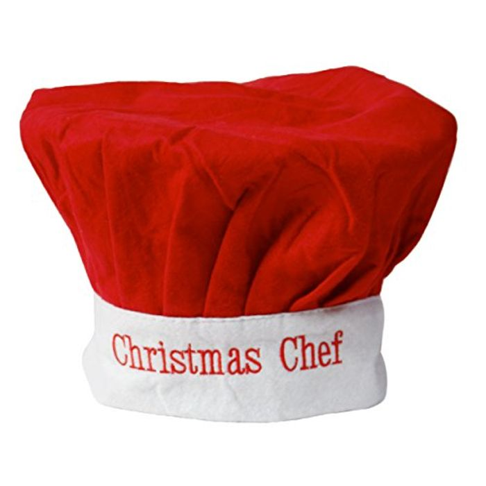 Christmas Chef Hat! (FREE Delivery)