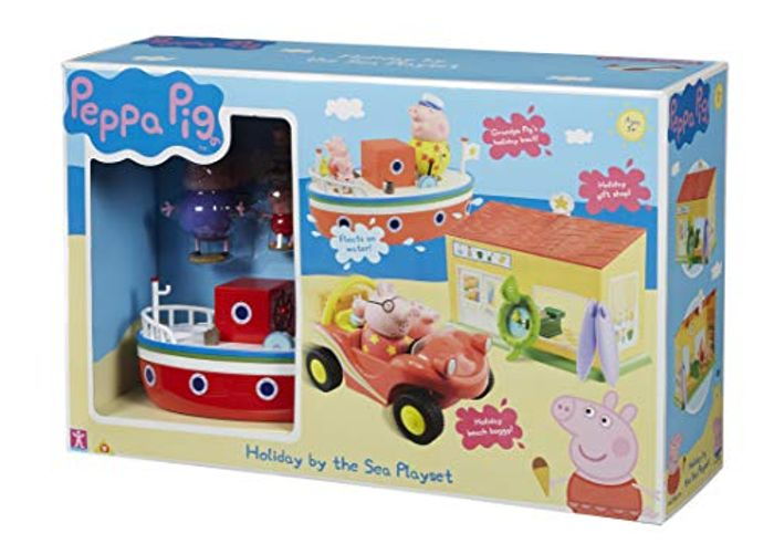 Peppa Pig Holiday by the Sea Giftset