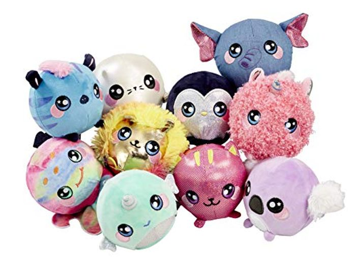 Squeezamals Sweet Scented Slow Rise Plush