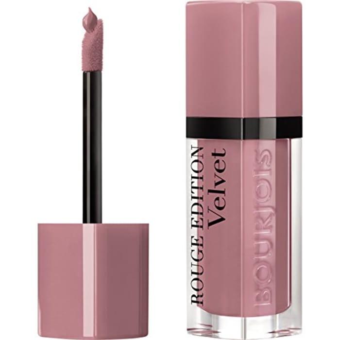 Bourjois Rouge Edition Velvet Liquid Lipstick 9 Happy Nude Year