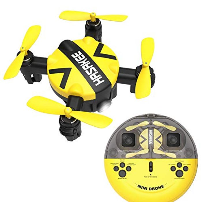 HASAKEE Mini Drone with Altitude Hold and Headless