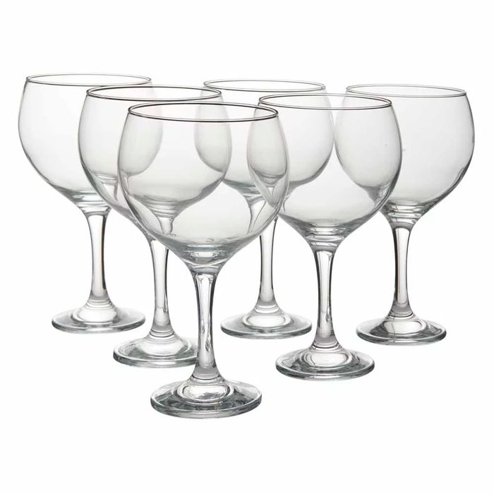 G&T Anyone? 6 Pack of Glasses at Wilko