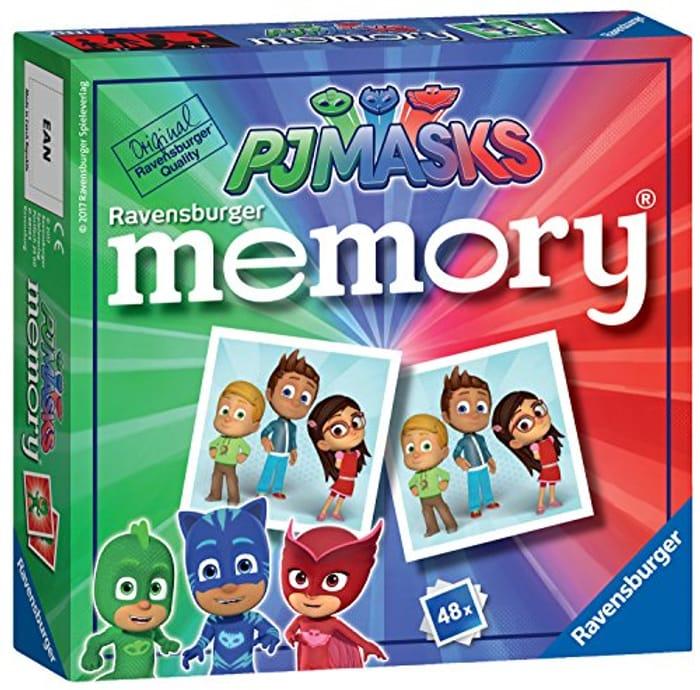 Pj Masks Memory Game - Stocking Filler!