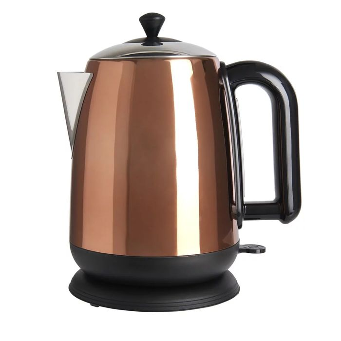 Cheap Wilko Copper Effect 1.7L Cylinder Kettle, Only £25!