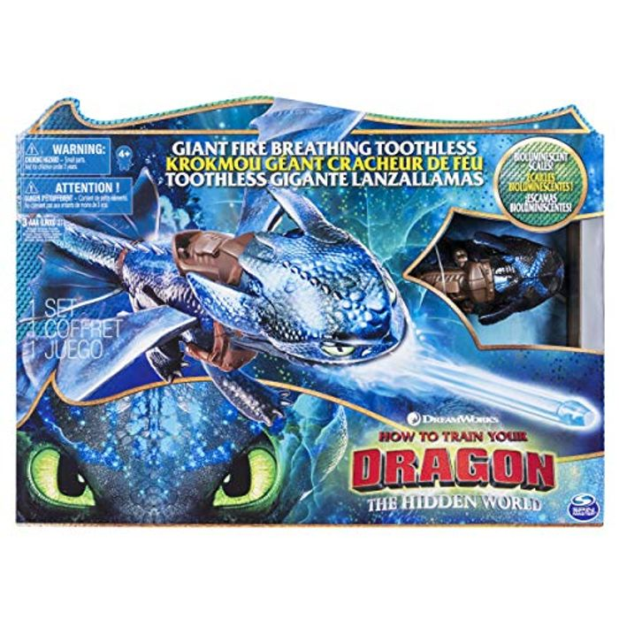 Dragons 6045436 DreamWorks Giant Toothless 20 Inch