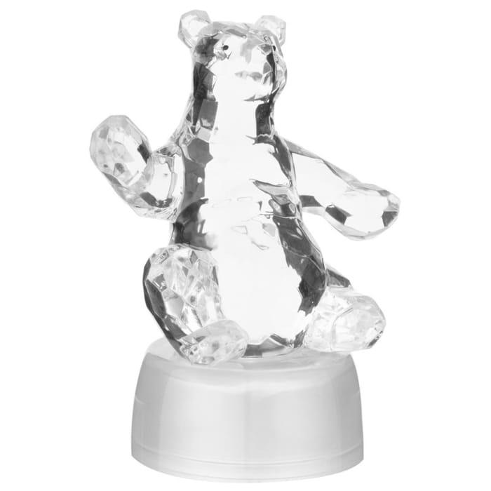 Colour Changing Christmas Polar Bear