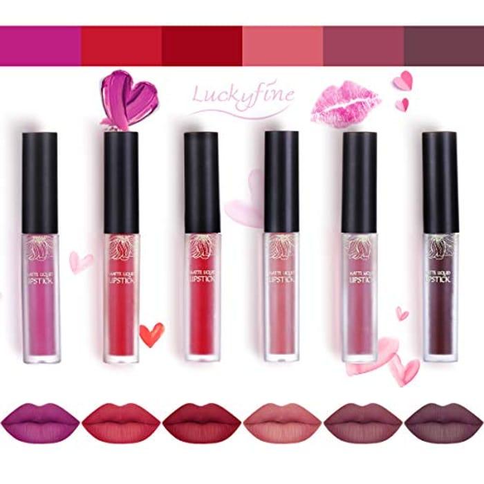 Get 40% off This Luckyfine Matte Lip Gloss Set