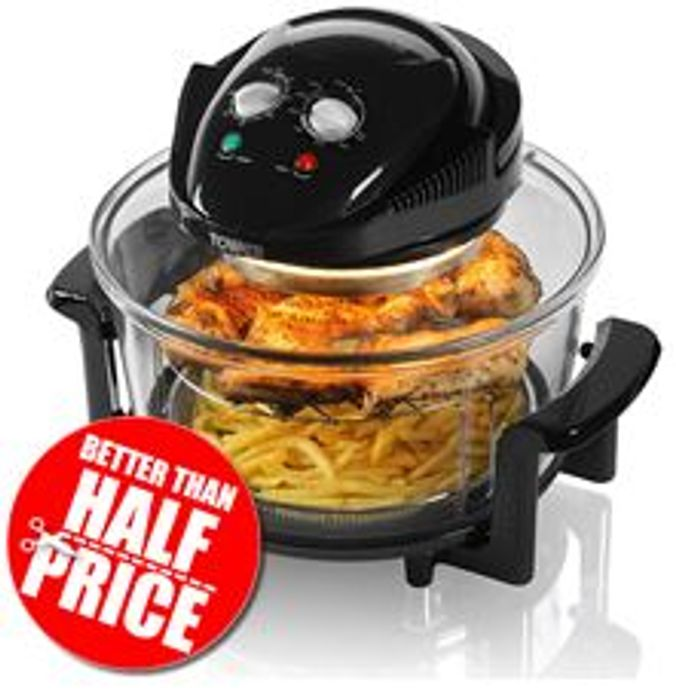 Amazon Deal of the Day - Tower Halogen Airwave Low Fat Air Fryer