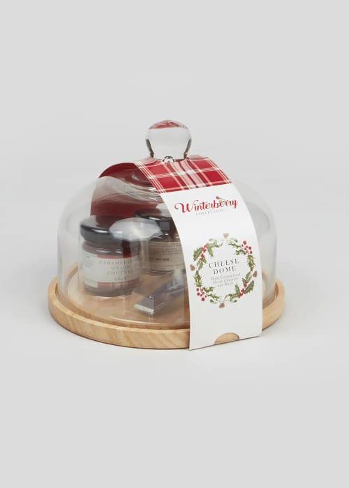 Cheese Board Gift Set (17cm X 17cm X 14cm) HALF PRICE