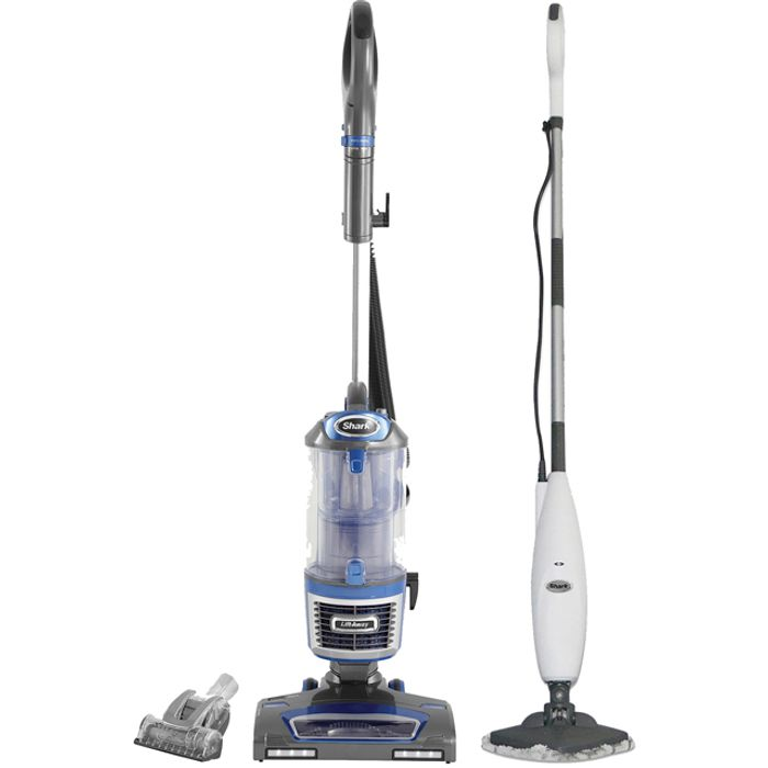 Shark Upright Vacuum Cleaner & Steam Mop Bundle with Free Accessories
