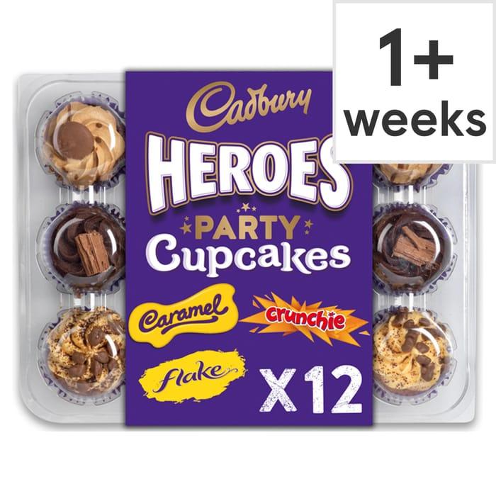 Cadbury 12 Cupcake Platter 7 At Tesco Latestdealscouk