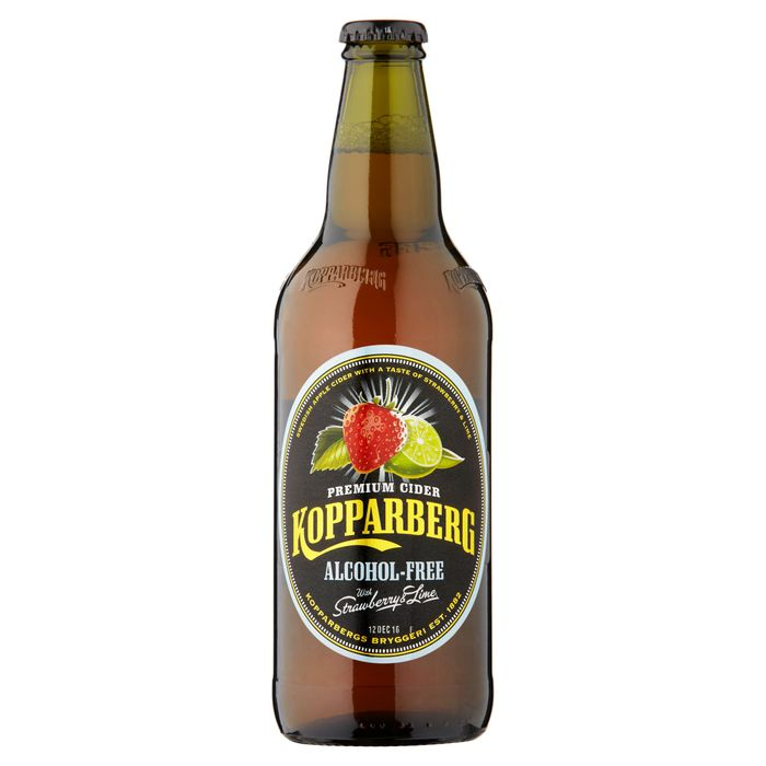Kopparberg Strawberry & Lime Alcohol Free 500Mll 3 for £3 at Tesco