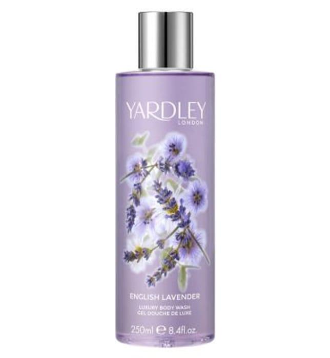 Yardley English Lavender Body Wash 250ml