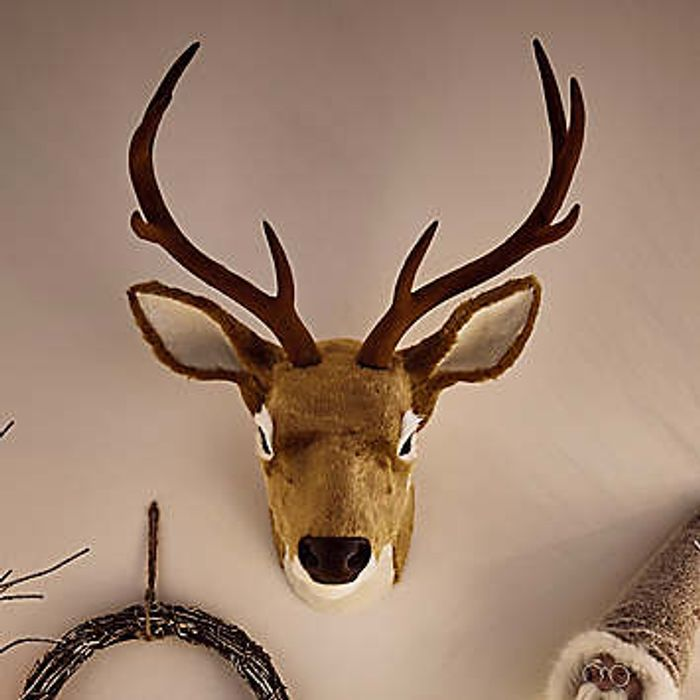 Wall Mounted Deer Head Decoration Down From £47 to £26