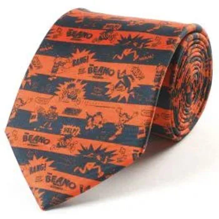 Beano Black & Red Silk Tie - Save £17
