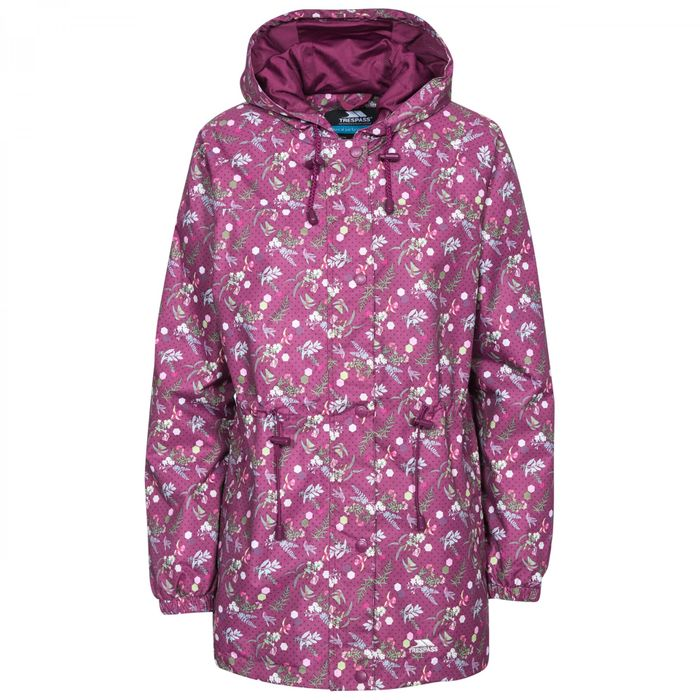 TRESPASS Womens Waterproof Jacket Down From £89.99 to £14.29