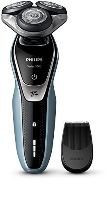 Philips Series 5000 Wet and Dry Men's Electric Shaver with Turbo plus Mode -