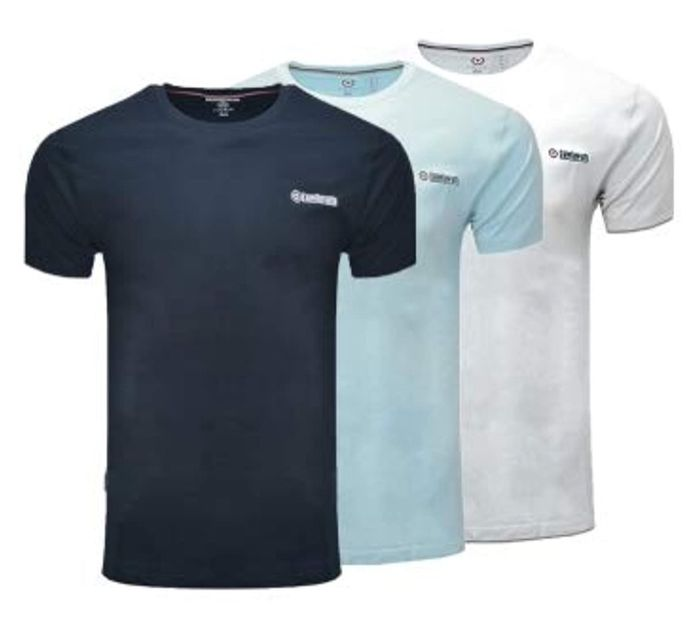 Lambretta Lounge T-Shirt 3 Pack Now £12.00 Size S up to XL