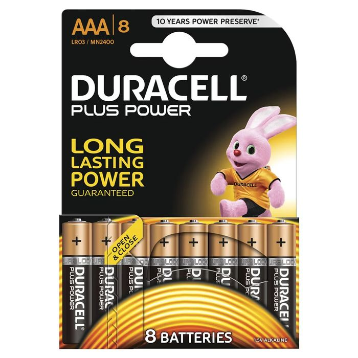 16 Duracell plus Power Batteries <2 for 8£>