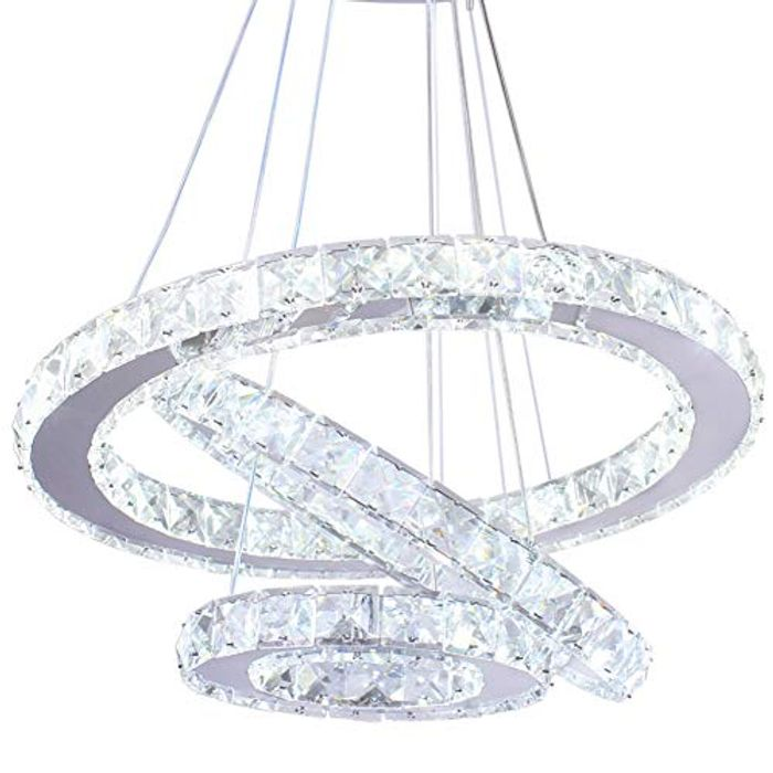 Modern Crystal Chandeliers LED Chandelier Pendant Lights