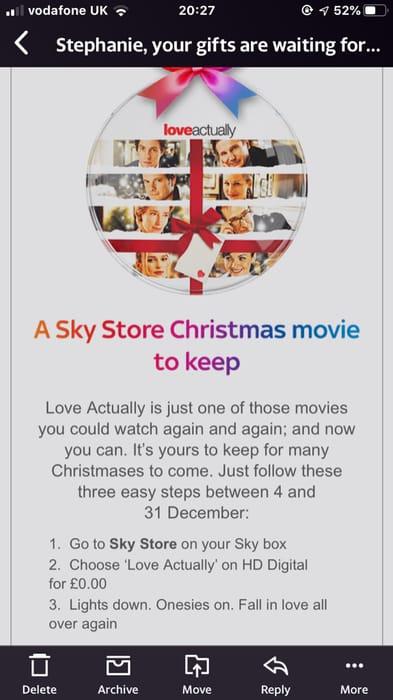 Free Sky Store Christmas Movie