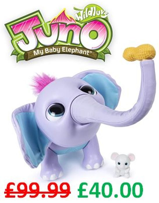Juno - The Interactive Baby Elephant - HOT TOY CHRISTMAS 2019 (See video)
