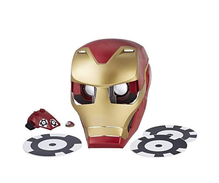 Cheap Marvel Avengers Infinity War Hero Vision Iron Man Helmet Mask Only £9.99