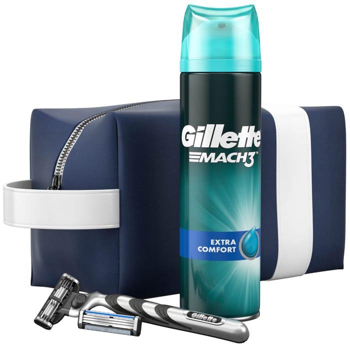 Cheap Gillette Mach3 Razor Travel Bag Gift Set Only £9.10