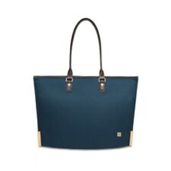 "Moshi Aria Lightweight Tote Bag for Devices up to 13"" in Bahama Blue"