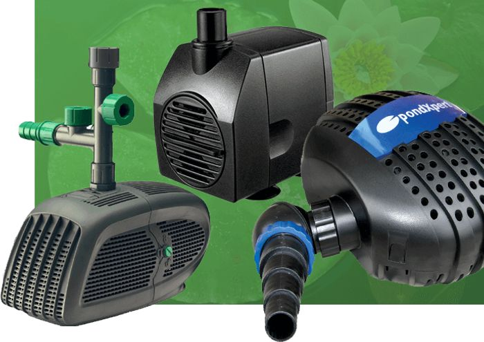 Free Delivery on Filter Pond Pump Orders over £40 at Pondkeeper