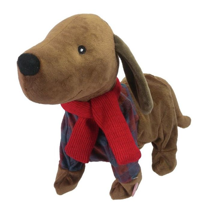 Part of the Family Sausage Dog Animated Soft Toy - HALF PRICE!