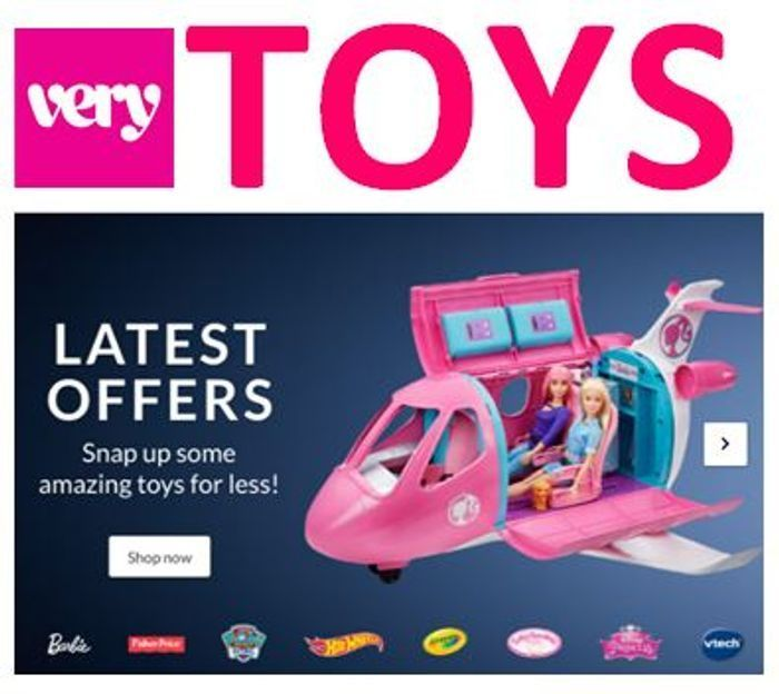Special Offer - Very TOY SALE - up to 75% OFF