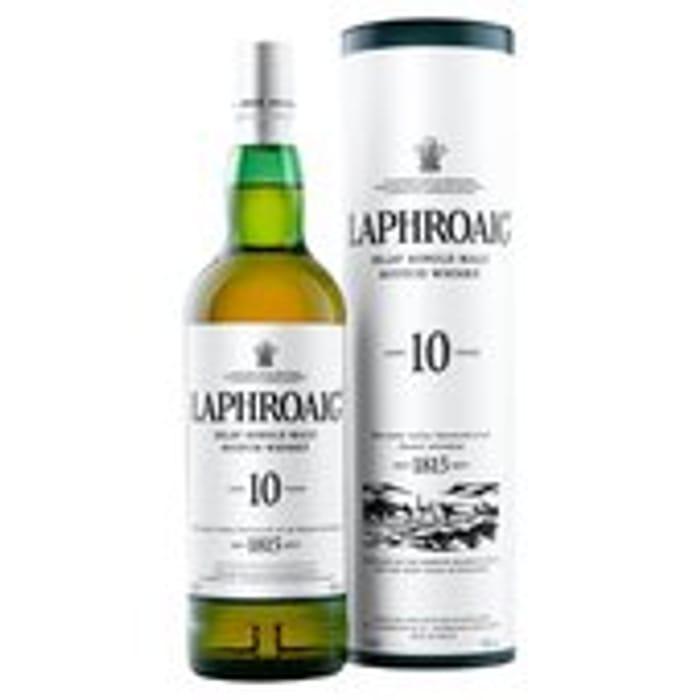 Laphroaig 10 Year Old Single Islay Malt Whisky 70cl