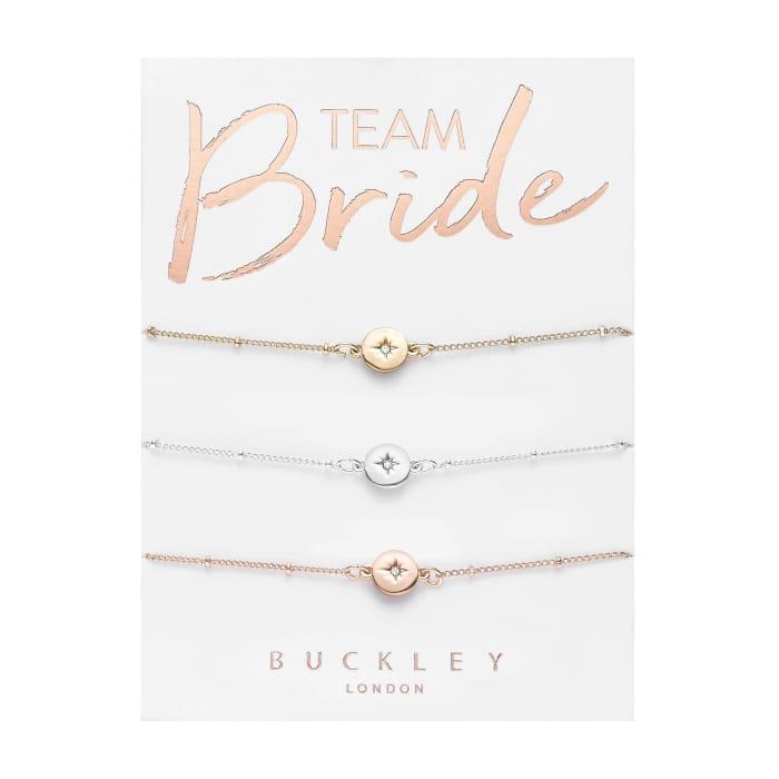 Team Bride Bracelet Trio