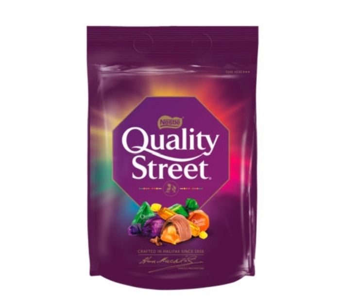 Quality Street Sharing Bag 450g Pouch
