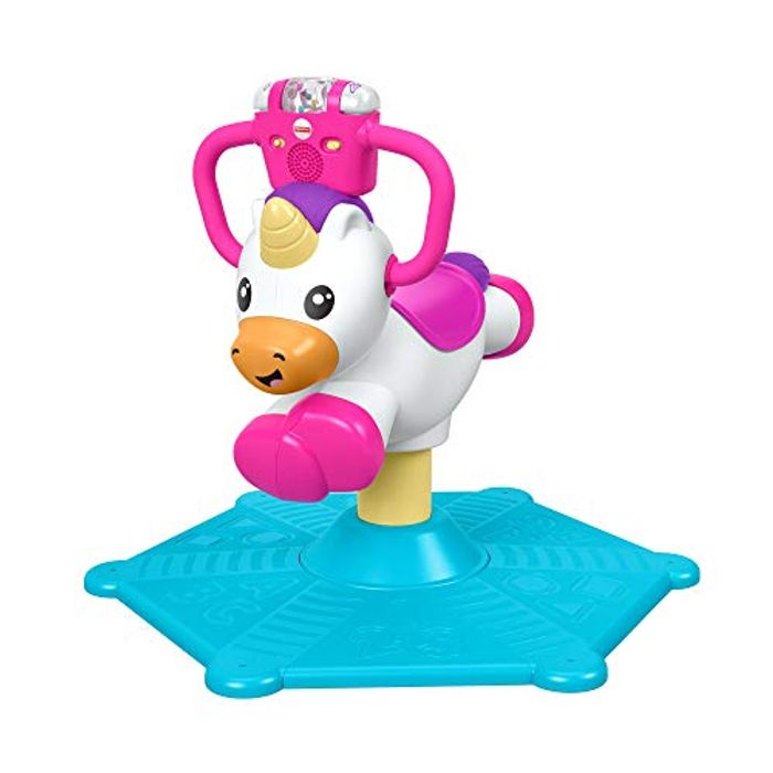 Fisher Price Bounce and Spin Unicorn